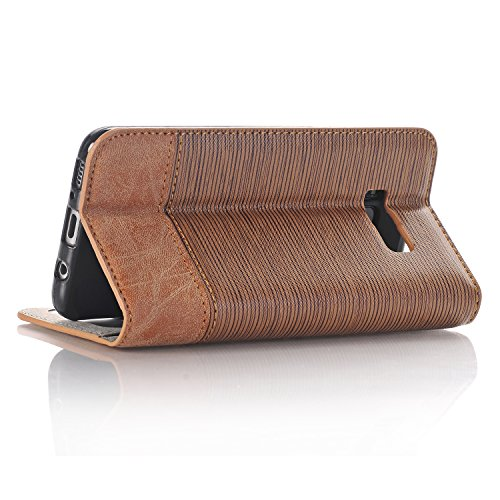 PU Leather Plus for Handbag Multi Shiny Wallet Slots 2 Chain elecfan with Crossbody Color amp; Samsung Cover S8 Galaxy Money Envelope Cards Lady 6 Candy Poacket Case Light Brown Plus A06 for Bag S8 inch White xqItYI8wd