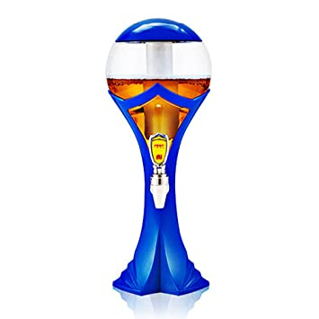 Dispensador De Cerveza - World Cup Design Torre De Cerveza Portátil, 1.5L/2L/3L con Cambio De Color Led Dentro.: Amazon.es: Deportes y aire libre