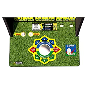 Arcade 1Up Golden Tee Classic Arcade with Riser, 5ft