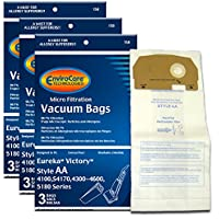 EnviroCare Replacement Vacuum Bags for Eureka Style AA Victory and True HEPA Uprights. 9 pack