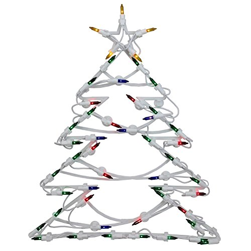 Northlight 18'' LED Lighted Tree Double Sided Christmas Window Silhouette Decoration by Northlight (Image #2)