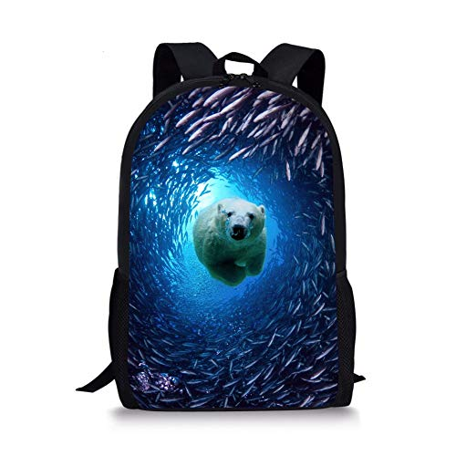 (RSHSJCZZY Backpack Cute Printing Student Backpack Teen Girls Children Bag Travel Backpack color 1)