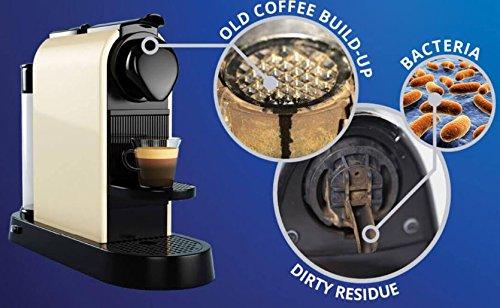 tronicxl 10/pieza Power Lavado C/ápsulas Capsule for Nespresso Machines C/ápsula C/ápsula de limpieza M/áquina