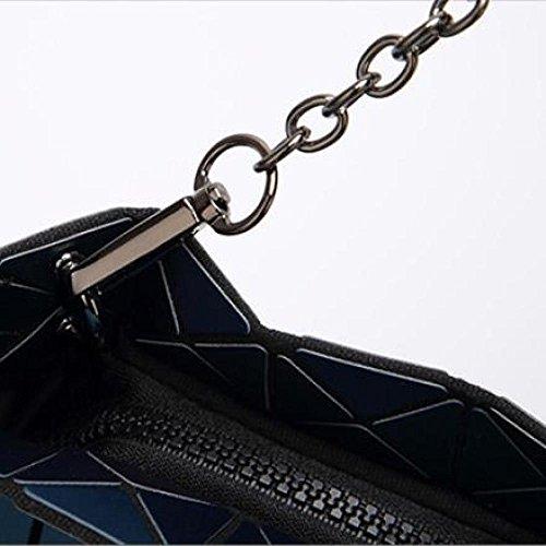 Mat Bandoulière Rhombique Sac Bandoulière Style AJLBT Japonais à Sac à Black pqSFW6wA
