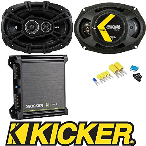 6 x 9 D-Series Coaxial 3-Way Speaker With 1//2 Tweeter And 2 Mid Kicker DSC693 41DSC6934