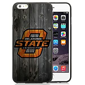 Hot Sale And Popular iPhone 6 Plus 5.5 Inch TPU Case Designed With NCAA Big 12 Conference Big12 Football Oklahoma State Cowboys 10 iPhone 6 Plus Phone Case