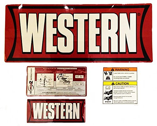 Western Snow Plow Factory Original Ultra Mount Decal Sticker – Western 28548