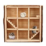 Hamiledyi Wooden Small Animal Maze Hamster