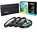 Polaroid Optics 72mm 4 Piece Close Up Filter Set (+1, +2, +4, +10)
