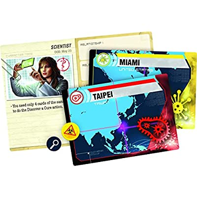 Pandemic: Legacy Season 1 (Red Edition): Toys & Games