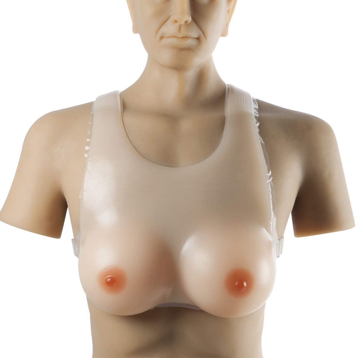 IVITA Silicone Breast Forms Prosthesis Mastectomy Waterdrop CT for Drag Queen