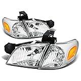 For Venture/Silhouette 4pcs Chrome Housing Amber Corner Headlight+Corner Light Kit Replacement