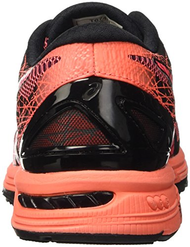 Asics Gel-DS Trainer 21, Scarpe da Corsa Donna Nero (Black/Flash Coral/Silver)