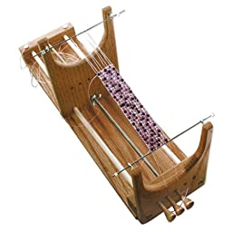1 X Ricks Beading Loom Kit - The Only Loom with Two Warp Threads to Deal with When Your Project Is Complete