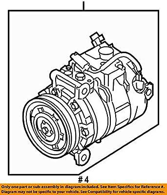 Amazon Com Bmw 64 50 9 180 548 Ac Compressor Automotive