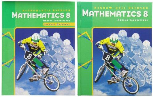 MHR Mathematics 8 Making Connections - Student Text & Workbook Pkg - Pkg Sandy