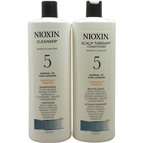System 5 Cleanser Shampoo and Scalp Therapy Conditioner 33.8 oz Liter Duo Set