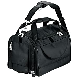 Pet Gear World Traveler Tote Carrier for Cats and Dogs up to 12-pounds, Small, Black Diamond