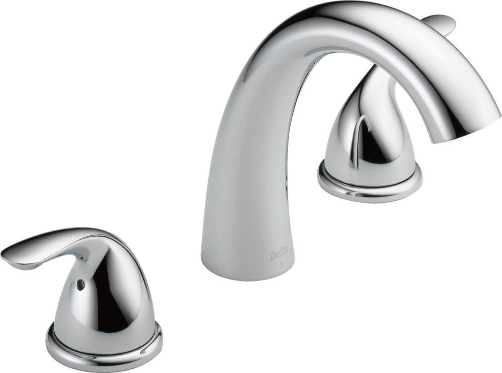 Delta Faucet T5722 Classic, Roman Tub Trim, Chrome - Tub Filler ...