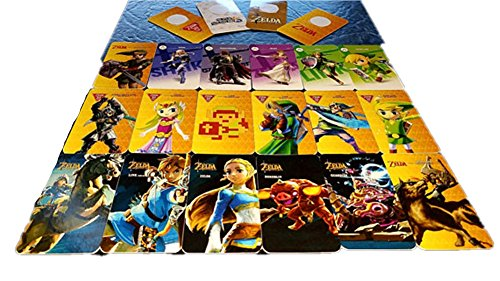 Amiibo Cards Legend Of Zelda Breath Of The Wild For Nintendo Switch And Wii U Pack Of 18