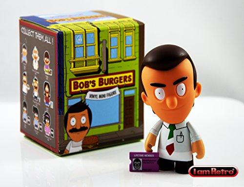 Jimmy Pesto - Bob's Burgers Mini Series by Kidrobot Odds 1/20 Opened Blind Box