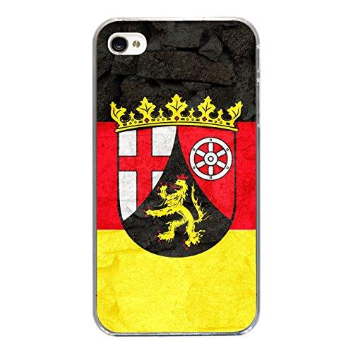 """Disagu Design Case Schutzhülle für Apple iPhone 4 Hülle Cover - Motiv """"Rheinland-Pfalz"""""""