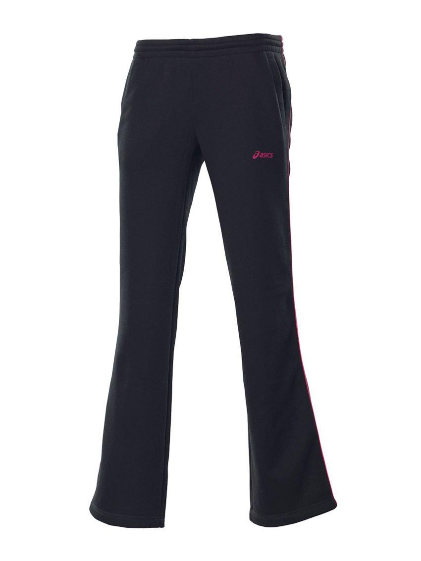 ASICS para Mujer Pantalones de chándal/Open Hem 109738-0904 Negro ...