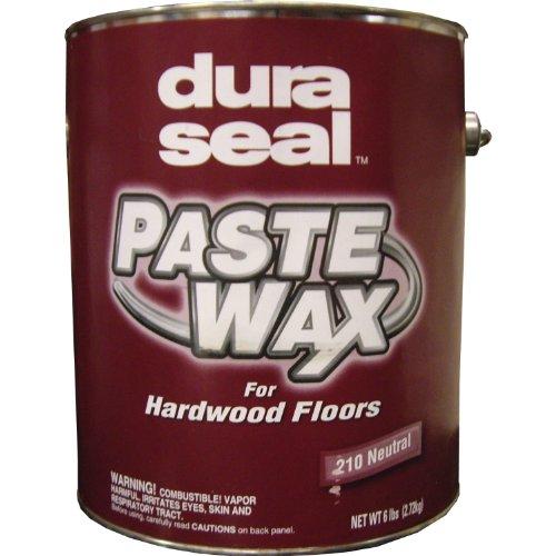 Wax Flooring - Dura Seal Wood Paste Wax - Neutral - 6 Lb Can