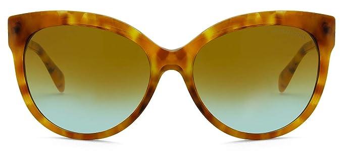 Michael Kors 0MK2083 Gafas de sol, Amber Tort, 57 para Mujer ...