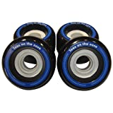 : Toes on the Nose 72mm Black Longboard Wheels (Set of 4)