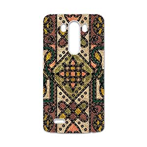 Classic Flowerr Fabric Totem Pattern Custom Protective Hard Phone Cae LG G3