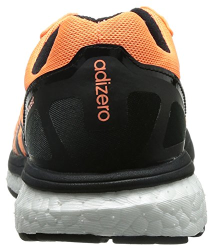Bianco W 5 Orange black Nero 5 Adizero Us 5 white Arancione Boston Adidas 8UxYqtAW