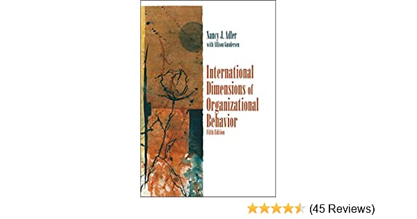 international dimensions of organizational behavior 5th edition free download