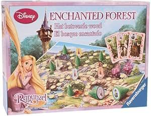 Ravensburger Disney - Juego de mesa con el Bosque Encantado de Rapunzel