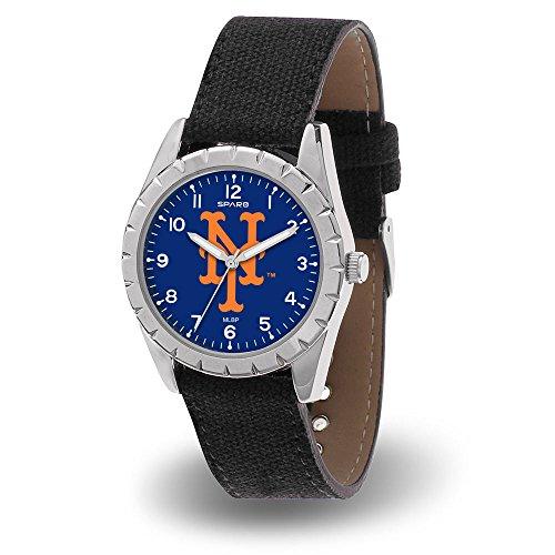 MLB New York Mets Nickel Mens Sparo Sports Watch (Mets New Watch York)