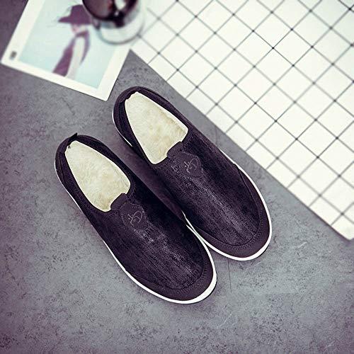 sur en Strap Formateurs Sports Glisser Marchant Femmes OSYARD Léger Noir Elastique Rembourré Poids Chaussures Boucle FwXpqtxnSY