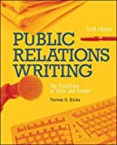 img - for Public Relations Writing: The Essentials of Style and Format book / textbook / text book