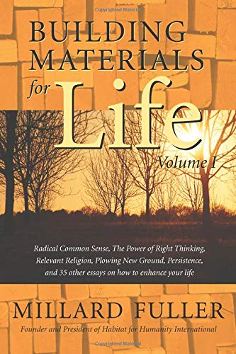 Building Materials for Life, Volume I