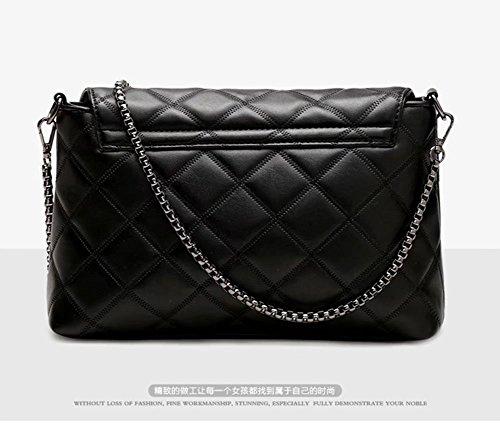 handbag leather body bag woman bag small women's Black shoulder Black cross hobo bag v6wgtqg