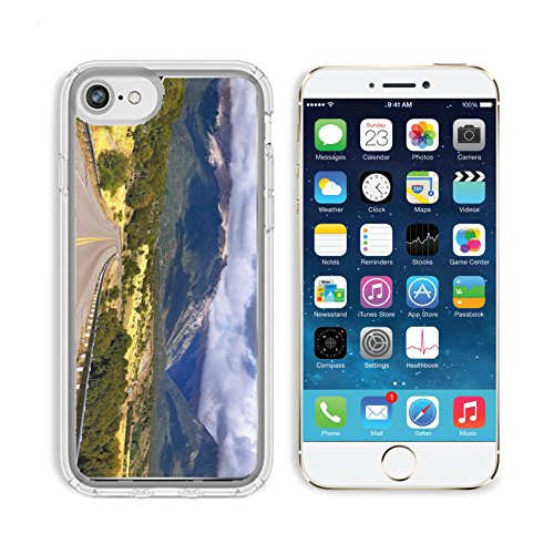 MSD Premium Apple iPhone 6 iPhone 6S Clear case Soft TPU Rubber Silicone Bumper Snap Cases IMAGE 26591794 Patagonia The longest road the Ruta 40 passes in Argentina among lakes - From To Argentina Usa Shipping