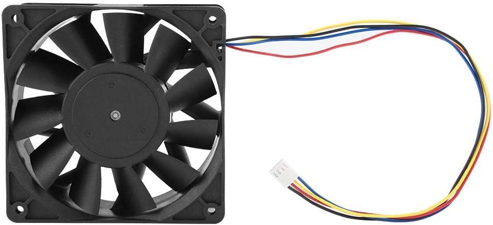 Asixx Ventilador de enfriamiento, Extractor, 12V 4.8A Ventilador ...