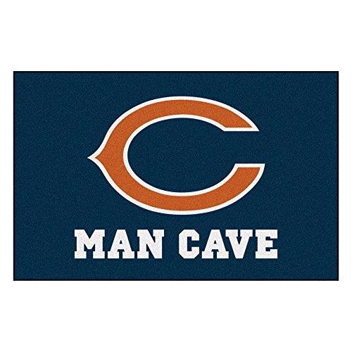 FANMATS 14281 NFL Chicago Bears Nylon Universal Man Cave Starter ()