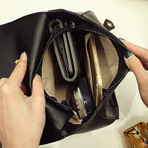 La Femmes Black La Sacs Tide Petite Simple Été En MDRW Main Sacs Match Sacoche Nouveau De À Rétro Mode Le Épaule De wHWqUI1