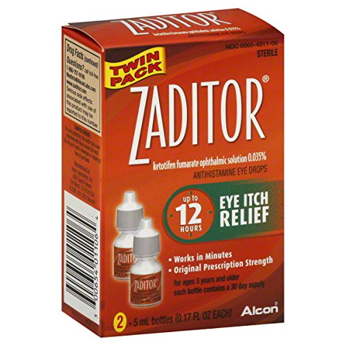 Alcon Zaditor Twin Pack collyre, 0,34 once
