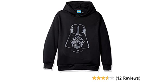 pretty nice 48fc9 0929a Amazon.com  Star Wars Big Boys  Darth Vader Helmet Fleece Pullover  Clothing