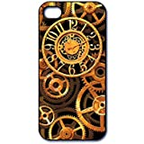 Dimension 9 Slim 3D Lenticular Cell Phone Case for Apple iPhone 5 or iPhone 5s - Steampunk Watch Gears