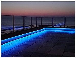 Charming Online Leds 5M   16.3ft Landscape Decking Garden Outside Color Changing Led  Strip Lighting Flexible LED Light Strip U2013 Indoor/Outdoor Accent Lighting  Set ...