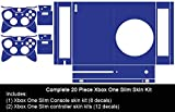 Microsoft Xbox One Slim Skin (XB1S) - NEW - LEMON YELLOW vinyl decal console mod kit by System Skins