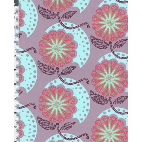 Lilac Anna Maria Horner Field Study Cell Structure Print Cotton Voile, Fabric Sold By the - Fabric Study Field