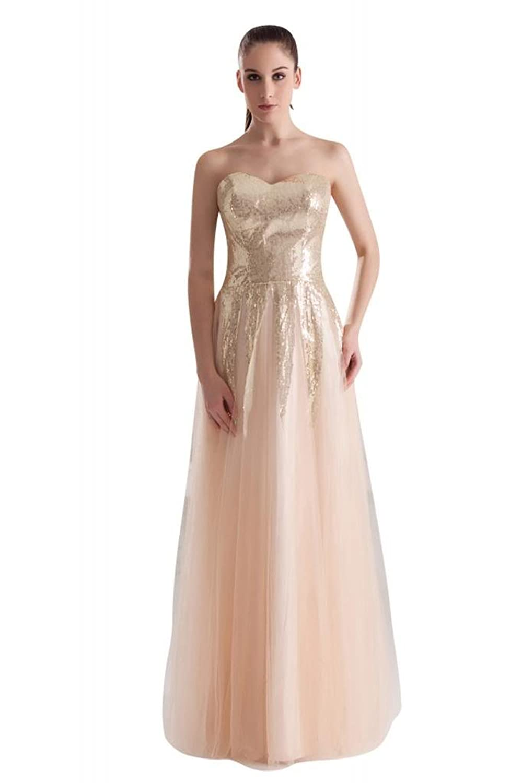 GEORGE BRIDE New Design Strapless long Formal Evening Dress